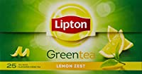 Lipton Lemon Zest Green, 25 Tea Bags