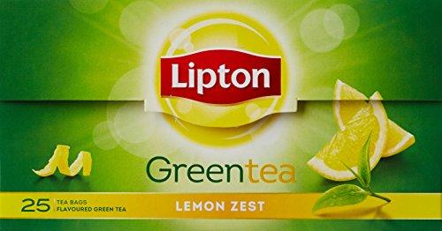 Lipton Lemon Zest Green, 25 Tea Bags