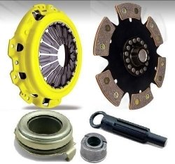ACT HDR6 Heavy Duty with 6 Puck Disc Clutch Kit Nissan Sentra SE-R 2.0L 91-95 (1992 Nissan Sentra Ser compare prices)