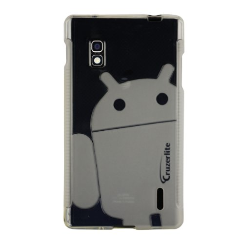 41L6eTqnhzL   Clear Cruzerlite Androidified A2 TPU Case for LG Optimus G (AT&T) Get Rabate