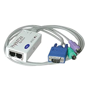 TRIPP LITE Minicom 8-Pack PS/2 Remote Unit Phantom Specter KVM Switch TAA GSA (0SU51060)