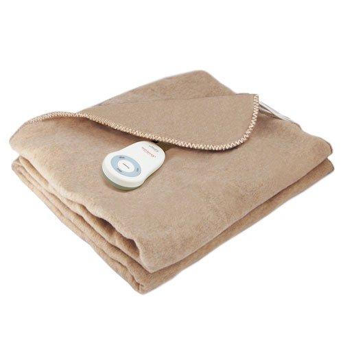 Sunbeam Fleece Throw Electric Heated Warming Heating