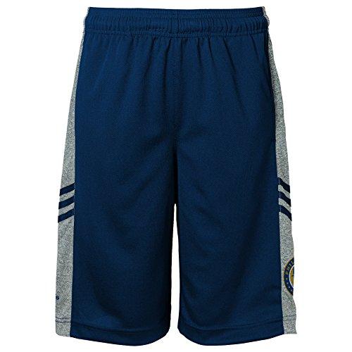 MLS Philadelphia Union Climalite Youth Boys 8-20 Shorts, Small, Dark Navy Climalite Short