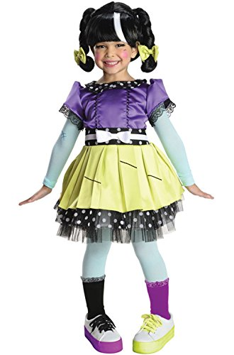[Mememall Fashion Lalaloopsy Deluxe Scraps Stitched 'N' Sewn Toddler/Child Costume] (Lalaloopsy Adult Costumes)