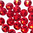 NEW ThreadNanny CZECH Quality 3mm/10ss 10gross (1440pcs) HotFix Rhinestones Crystals Siam Red Color