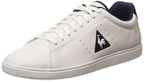 Le Coq Sportif Courtone S Lea Sneaker da Uomo, Colore Bianco (Optical White/DressOptical White/Dress), Taglia 41 EU (7 UK)