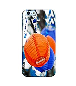 Omnam Orange Lamp Shade Pattern Printed Designer Back Case Apple iPhone 6/6S