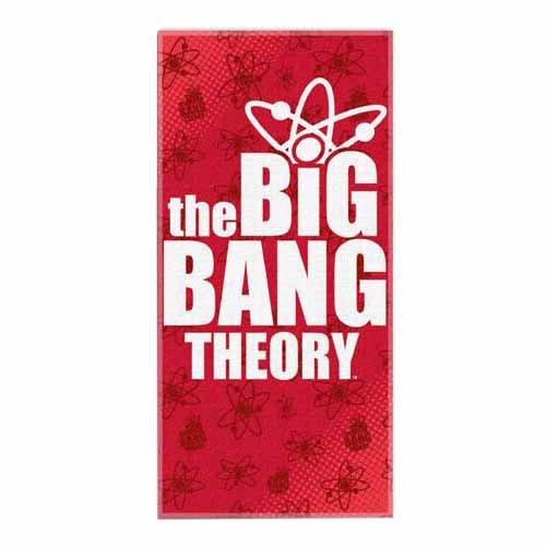 Big Bang Theory Big Logo Beach Towel (28in x 58in)