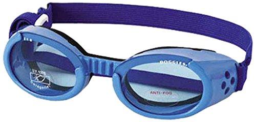 Artikelbild: Doggles DODGILMD-04 Doggles - ILS Medium Shiny Blue Frame mit Blau Lens