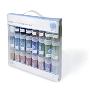 Martha Stewart Crafts Glitter Multipack, 24 Per Pack