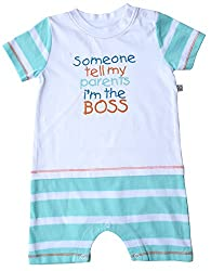 Babeez Baby Yarn Dyed T - Romper (100% Cotton) to fit height 80 - 86cms