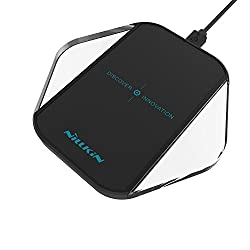 Wireless Charger, Nillkin Ultra-Slim Wireless Charging Pad for Samsung Galaxy S7, S6 Active, S6 Edge, S6 Edge+, Note 5, Apple iPhone SE/6/6S,iPhone 6 Plus/ 6S Plus All Qi-Enabled Devices (Black)