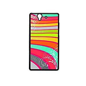 Vibhar printed case back cover for Sony Xperia Z Spiral