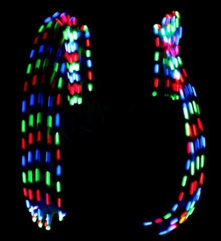 MultiColor LED Gloves - 1