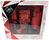 Revlon Gift Set includes Charlie Chic Eau de Toilette 30ml/ Body Souffle 75ml/ Body Lotion 100ml/ 2 Nail Enamel