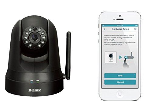 D-Link DCS-5010L mydlink Home Videocamera di Sorveglianza Cloud con Monitor 360
