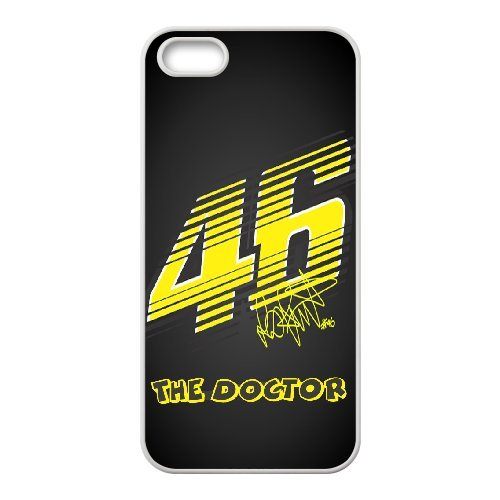 iPhone 5,5S Phone Case Valentino Rossi VR46 Moto GP Logo 46 WE736022