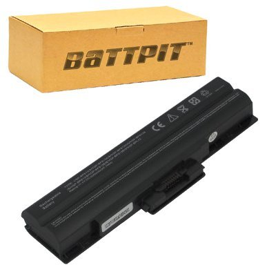 Battpit� Laptop / Notebook Battery Replacement for Sony VAIO VGN-SR290 Series (No additional firmware modification needed.) (4400 mAh)