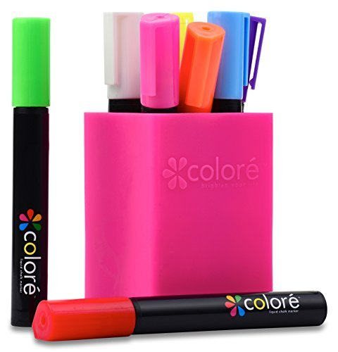 colore-brillante-rotuladores-de-tiza-liquida-punta-biselada-de-6-mm-bullet-