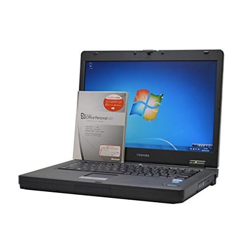 中古ノートパソコン 【Microsoft Office インストール済み】東芝 dynabook Satellite J82 15.4型ワイド液晶 CPU:Celeron 2.20GHz メモリ:2GB HD:160GB DVDマルチドライブ搭載 Windows7Pro 64bit
