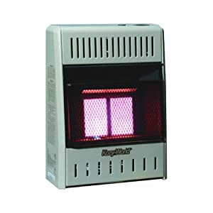 Kozy World KWP112 10,000-BTU Vent-Free LP-Gas Infrared Wall Heater