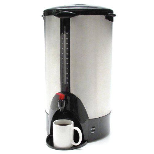Coffee Pro - URN/Coffeemaker,100 Cup,13-1/2