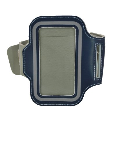 Audiology Adjustable Armband For Iphone 5/5S - Carrying Case - Retail Packaging - Navy