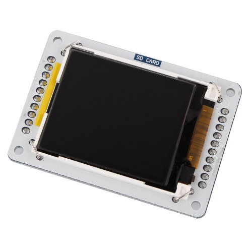 "Tontec 1.8"" Tft Color Lcd Display Module Spi Interface Microsd For Arduino Uno Mega R3"