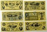Denix Replicas 99 Civil War Currency Sets