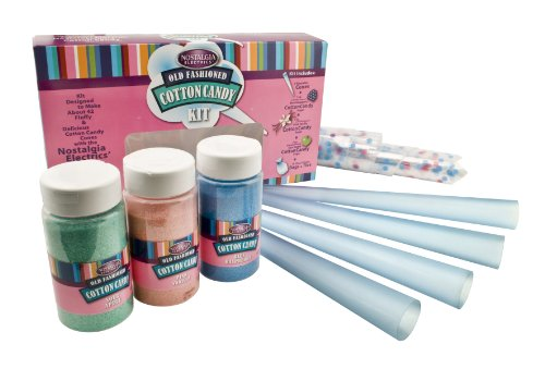 Sale!! Nostalgia Electrics FCK-800 Flossing Sugar Cotton Candy Kit