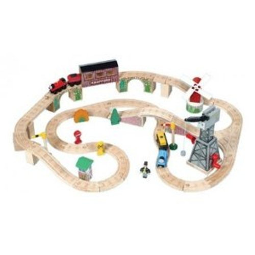 Wooden Thomas  &  Friends: Knapford Station Set