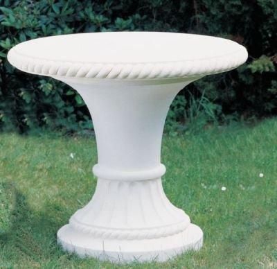 Universaltisch Tisch aus Betonwerkstein robuster Gartentisch rund günstig