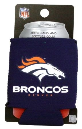 DENVER BRONCOS NFL CAN KADDY KOOZIE COOZIE COOLER at Amazon.com