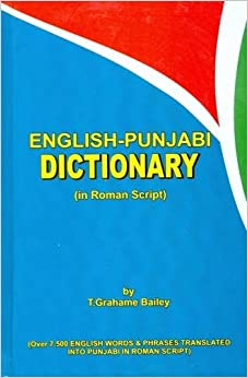 Punjabi to english dictionary book download pdf
