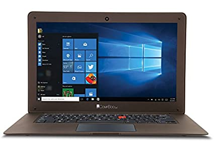 IBall CompBook Exemplaire Netbook 8902968170493 Atom 32GB 2GB Windows 10 Home 14 Inch integrated graphics