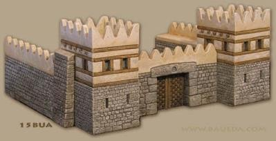 Urbis Architectural (15mm Ancient): Near East Walled City Set