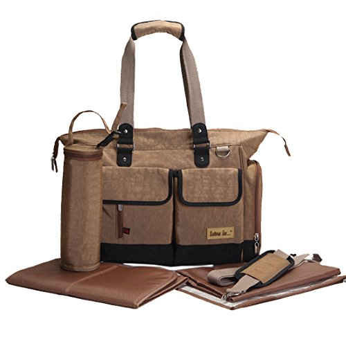 Damai Eco Friendly Material Unisex Diaper Tote Bag (Camel) front-832529