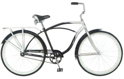 Schwinn Men's Sanctuary Cruiser Bicycle , Silver/Black, 18-Inch