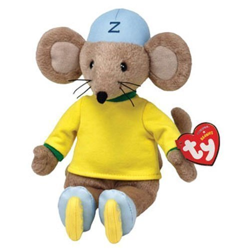 TY Beanie Baby - ZOOMER the Mouse (Rastamouse - UK Excl) (8.5 inch)
