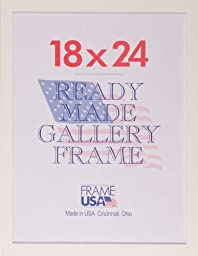 18x24 Simply Poly Posterframe (White) by Frame USA