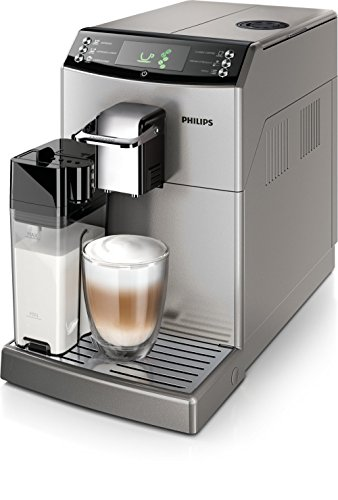 Philips Serie 4000 Essence Duo Carafe Argent, 15 bars, technologie breveté Coffee Switch