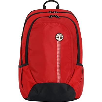 88d1618cf2 Timberland Tamworth Backpack - Red & Black - NaNaAleWoMitz