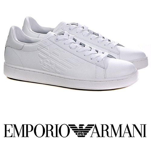 Sneakers Man Bianco EA7 Emporio Armani NEW CLASSIC (44)