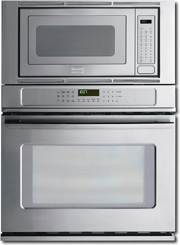 """Frigidaire Fpmc3085Kf 30"""" Electric Wall Oven / Microwave Combination With Powerplus Preheat And Powerp, Stainless Steel"""