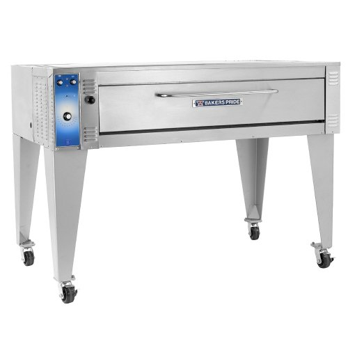 "240V Single Phase Bakers Pride Eb-3-8-5736 74"" Triple Deck Electric Bake Oven"