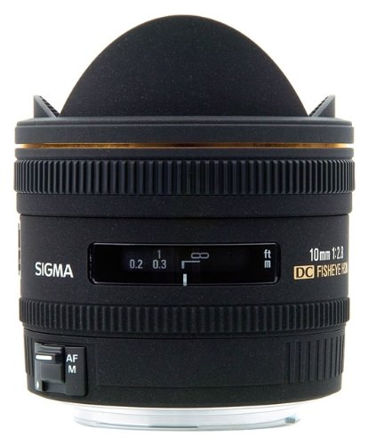 Sigma 10mm f/2.8 EX DC HSM Fisheye Lens for Canon Digital SLR Cameras
