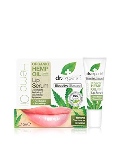 DR ORGANIC Siero Labbra Olio Di Canapa 10 ml