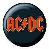 Official Merchandise Mini Button Badge - AC/DC