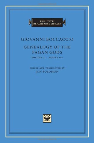 Genealogy of the Pagan Gods, Volume 1: Books