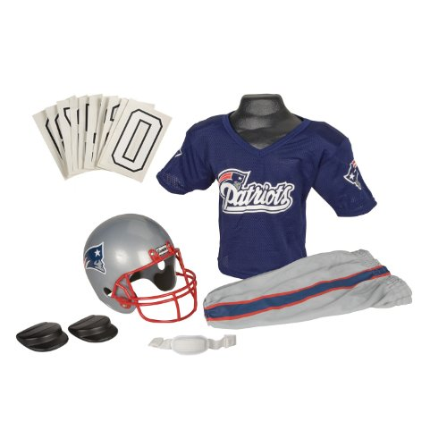 NFL New England Patriots Deluxe Youth Uniform Set, Medium at Amazon.com